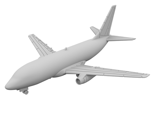 1:400_737-200 [x1][S] in Smooth Fine Detail Plastic