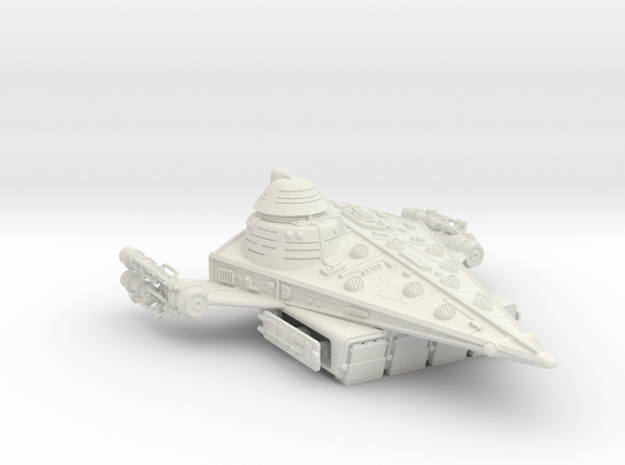 Frontier Assault Carrier in White Natural Versatile Plastic