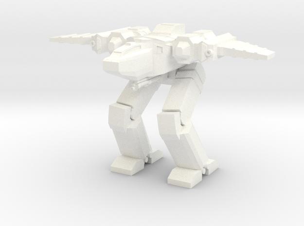 Chimera Advanced Battlesuit Hybrid Mode in White Processed Versatile Plastic