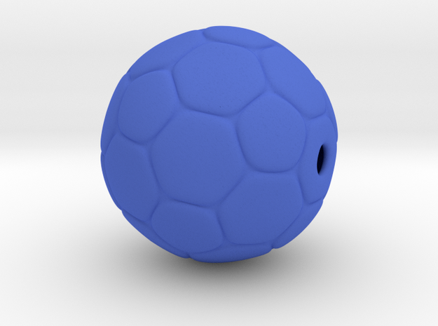 Soccer Ball Bead 3d printed