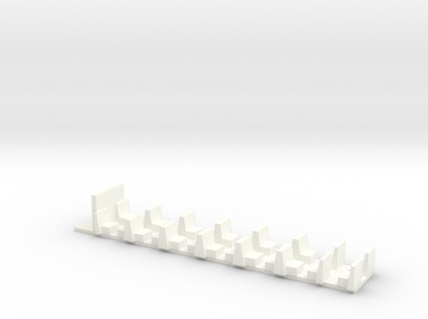 Interior for PC-B_1S in White Processed Versatile Plastic