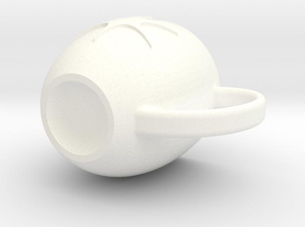 SparkMug image in White Strong & Flexible Polished