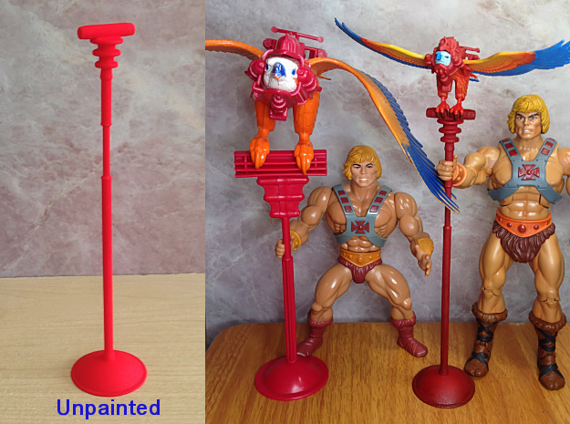Battle Bird Stand for 7 inch figure
