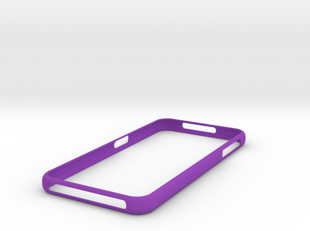 Galaxy S7 Bumper ( New ! ) Samsung in Purple Strong & Flexible Polished