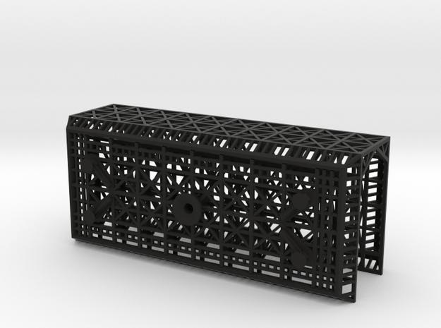 Outboard Module Square (1/700) in Black Natural Versatile Plastic