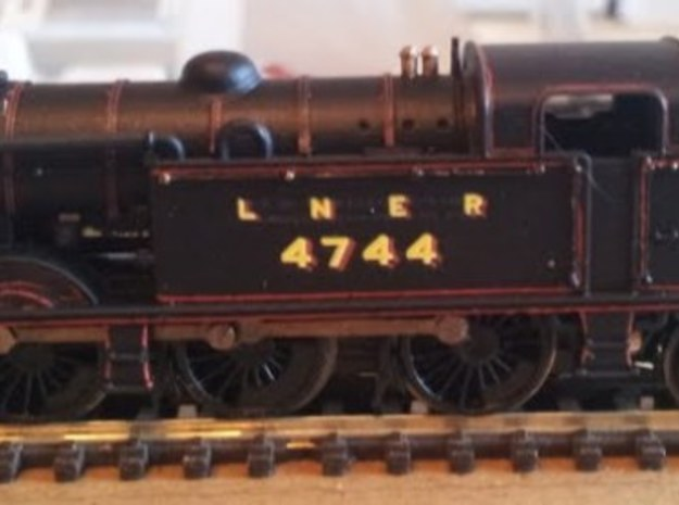 LNER N2 Body Shell in Smoothest Fine Detail Plastic