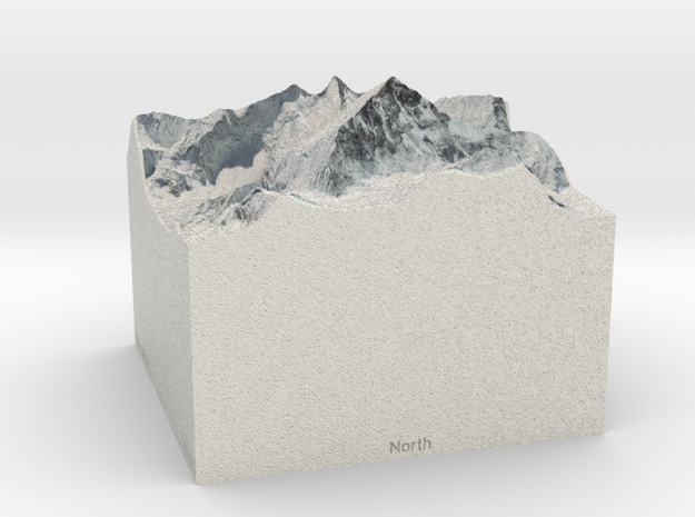 Mt. Everest, China/Nepal, 1:100000 Explorer in Full Color Sandstone