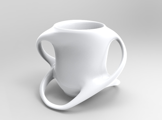 Cup with Four Handles