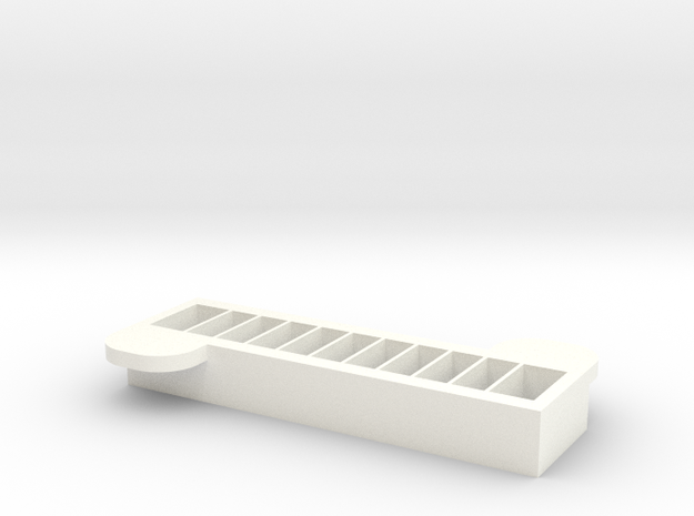 Cavity Top in White Strong & Flexible Polished