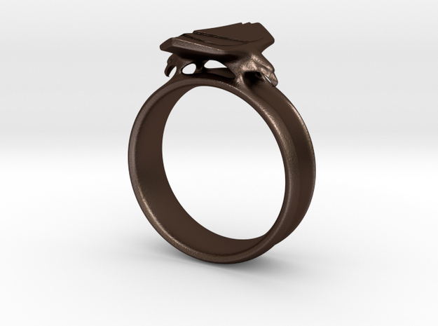 Eagle Ring Size 9 3d printed