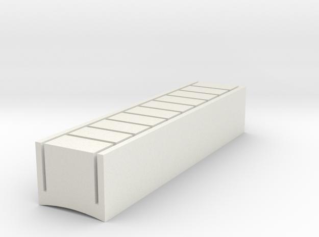 Ahsoka Tano Lightsaber - Button 3 in White Natural Versatile Plastic
