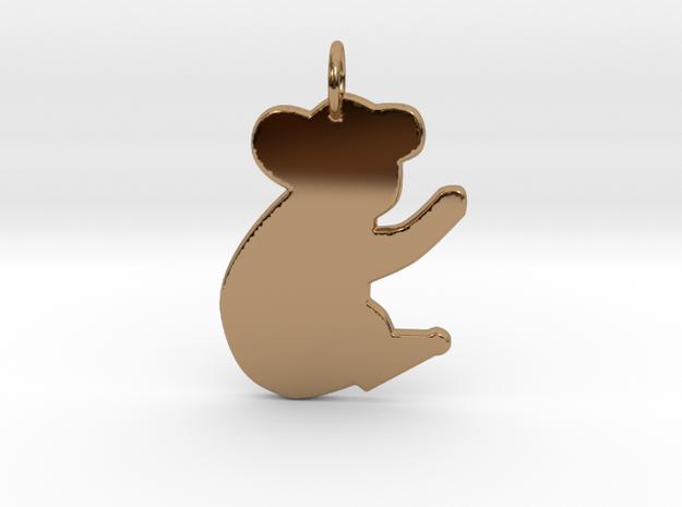 Koala Bear in Polished Brass