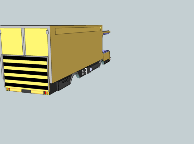 DENNIS 2 ELITE TRUCK FOR TOMYTEC POWERED CHASSIS 3d printed