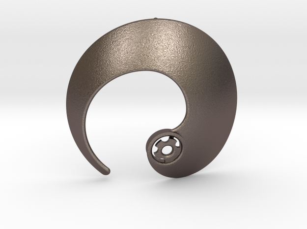 Enso No.1 Pendant in Stainless Steel