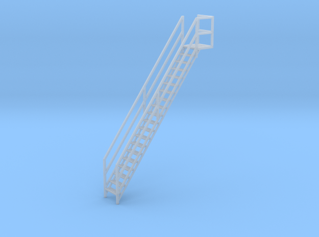 """1/64th """"S"""" Scale Grain Leg/Tower Stair Section in Smooth Fine Detail Plastic"""