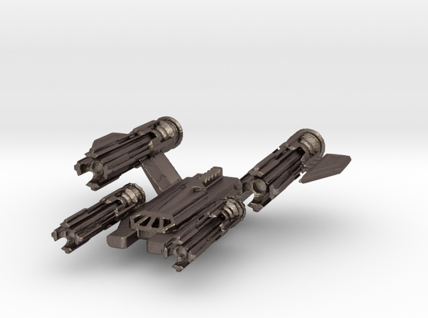 5150 Fighter Command - Gaea Prime Dragonfly in Polished Bronzed Silver Steel