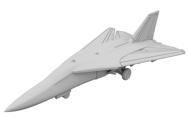 1:500 - F111 Aardvark [x2][A] in Smooth Fine Detail Plastic