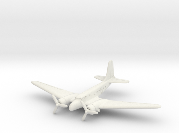 Douglas UC-67 (In Flight) 6mm 1/285 in White Natural Versatile Plastic