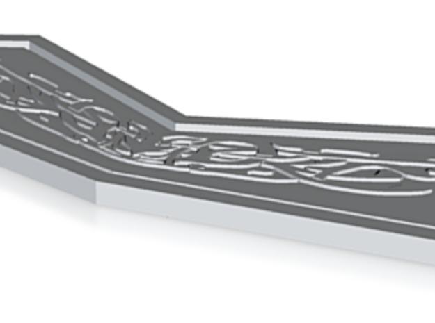 Thor 2: belt clasp female 3d printed