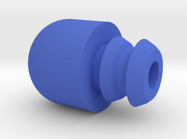 Zero S Bar End or End Cap in Blue Strong & Flexible Polished
