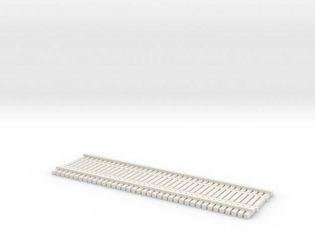 TT (1:120) BridgeTrack 40' x 12' Wide in White Natural Versatile Plastic
