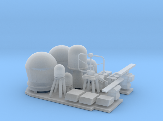 1/96 scale Littoral Combat Ship - Fittings set in Frosted Ultra Detail
