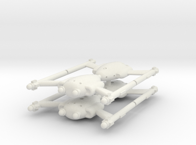 Invader Cutter 4 Sprue in White Strong & Flexible