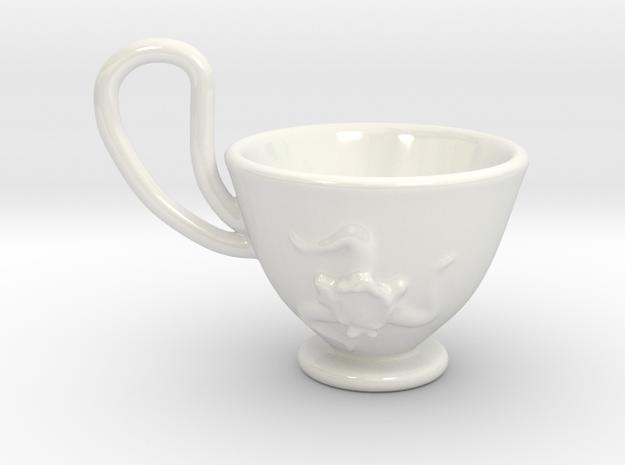 tazza sicilia in Gloss White Porcelain
