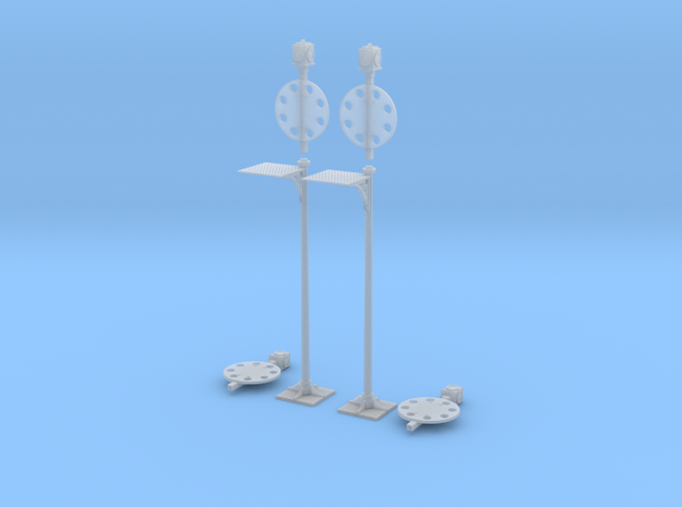 FR Disc Signal 7mm Scale Pair in Smooth Fine Detail Plastic