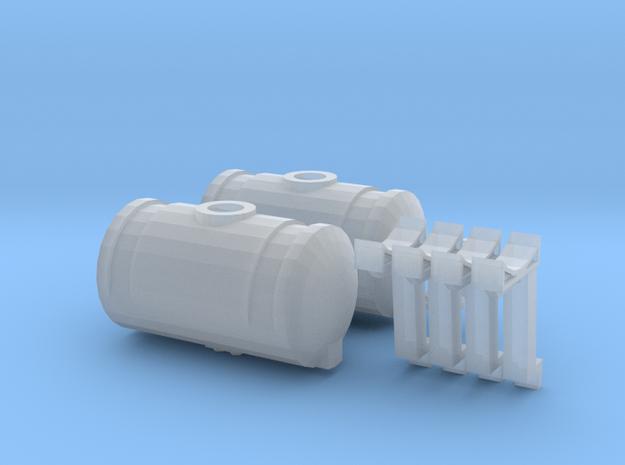 1/64 150 Gallon Kinze Fertilizer Tanks (1 Set) in Smooth Fine Detail Plastic