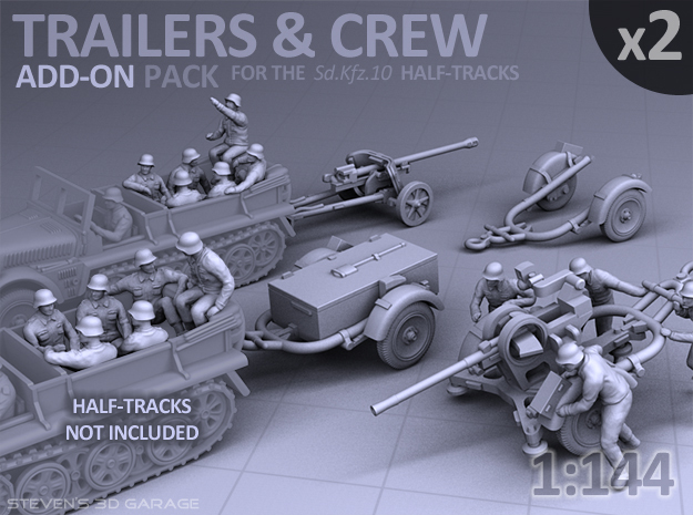 Trailers & Crew : Add-on (2 pack)