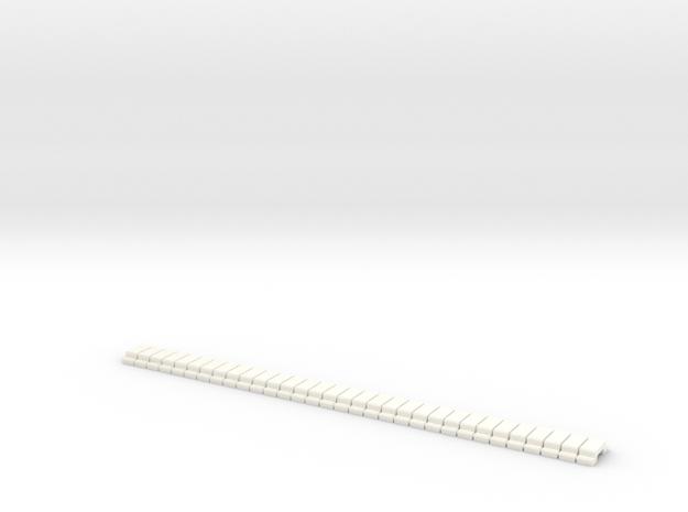 LED-Housing-printklem-32x in White Strong & Flexible Polished