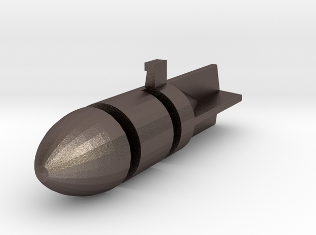 Dinky Toy - Bomb Stuka JU 87 n 721  in Polished Bronzed Silver Steel