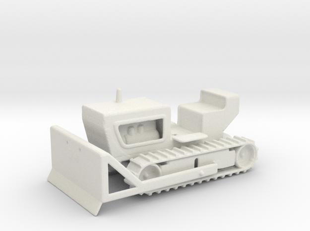 1:12 Bulldozer in White Natural Versatile Plastic