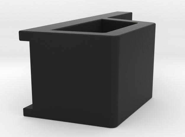 Four Eyes Clip in Black Natural Versatile Plastic