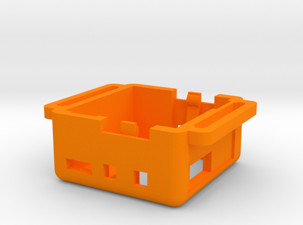 Sensor Kit - Main Case in Orange Processed Versatile Plastic