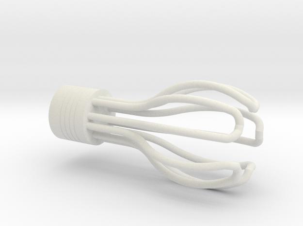 1:12 Light bulb #18 in White Natural Versatile Plastic