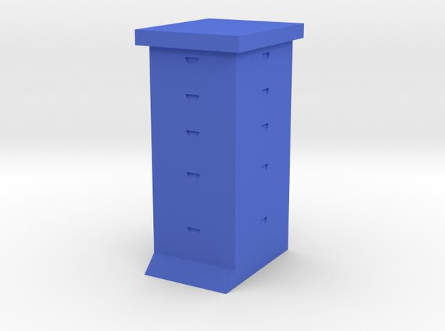 Ultimate Bee Hive Sculpture in Blue Processed Versatile Plastic