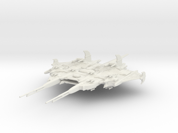 CR Assault Cruiser in White Natural Versatile Plastic