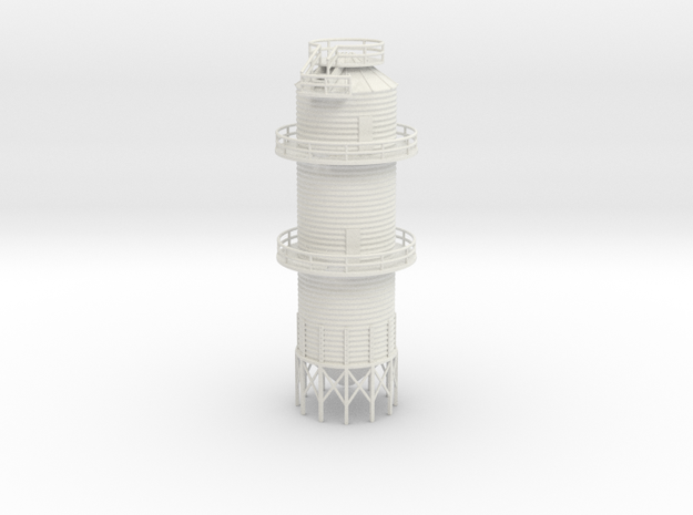 'N Scale' - Grain Dryer - 18' dia. - 67ft tall