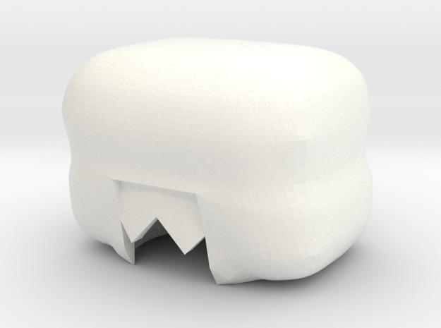 Custom Garnet Inspired Lego in White Processed Versatile Plastic