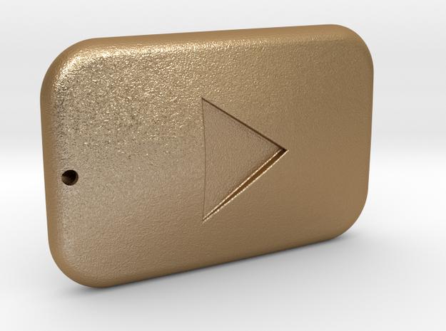Youtube Button Keychain