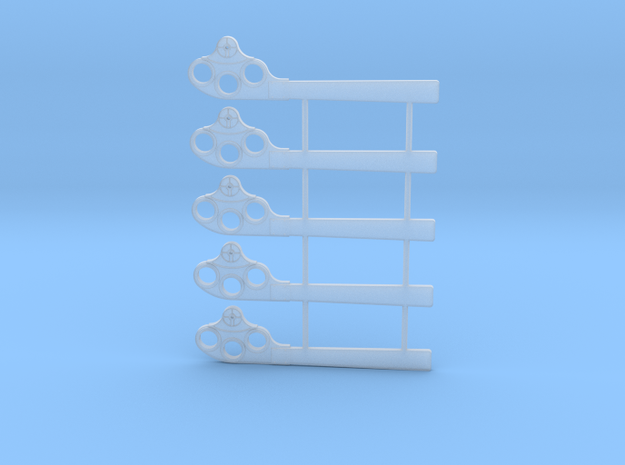 S Scale GRS Style A Square Semaphore in Smooth Fine Detail Plastic