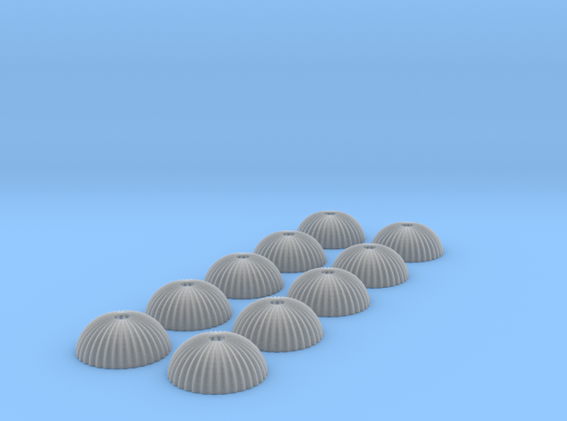 1/350 scale army parachute para Fallschirm 10 of in Smooth Fine Detail Plastic