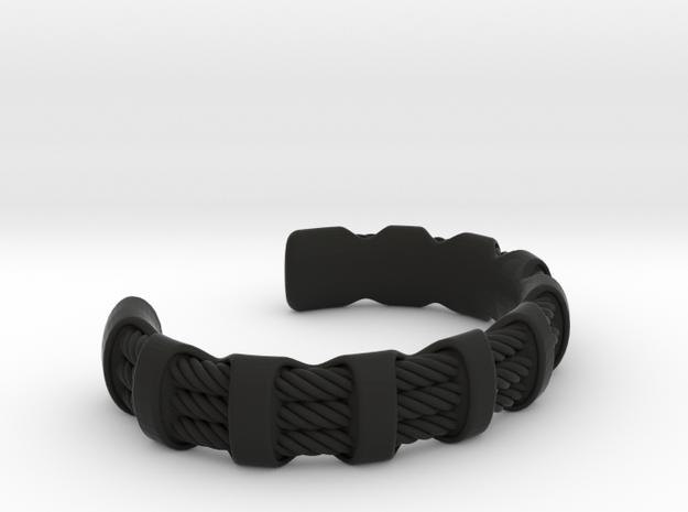 Flexy Cuff 3 medium in Black Strong & Flexible