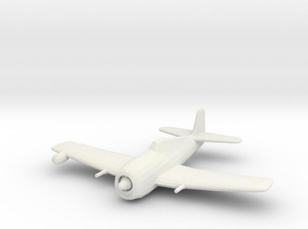 Grumman F6F-5N 'Hellcat' WSF 1/200 x1 in White Natural Versatile Plastic