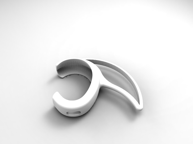Ear pod attachment for sports in Frosted Ultra Detail