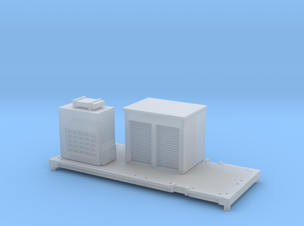FEA-F Spine Wagon Mounted Sandite Module for N Gau in Smooth Fine Detail Plastic