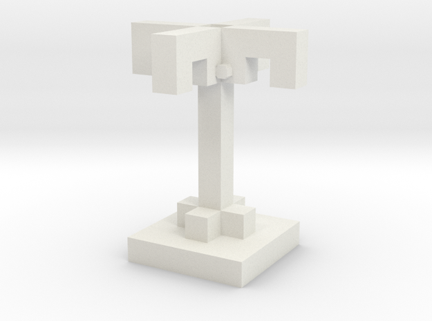 Palm Tree in White Strong & Flexible