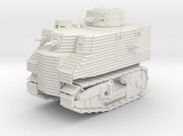 Bob Semple Tank (15mm) in White Strong & Flexible